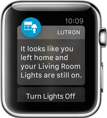 Actionable Notifications. You can choose to have third-party app notifications show up on your Apple Watch. Notifications built with WatchKit can go even further by allowing you to take action or respond right from your wrist.