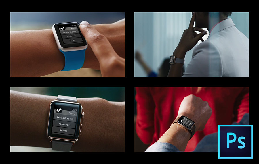 Real life. PSD of Apple Watch on people's wrists Great for designing app hero images. by @piotrszwach