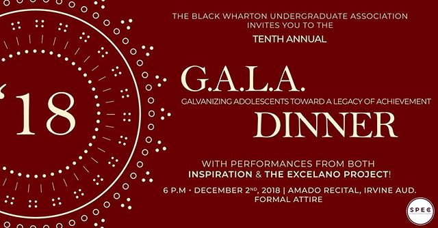 It's a season of giving and after much anticipation the Tenth Annual Service GALA is back and better than ever! Join us on Sunday, December 2nd, for delicious food, amazing entertainment, an especially captivating speaker, and above all else, a fantastic time! We can't want to see you all at our last formal event of the calendar year, so make sure to buy your ticket today with the link in our description!