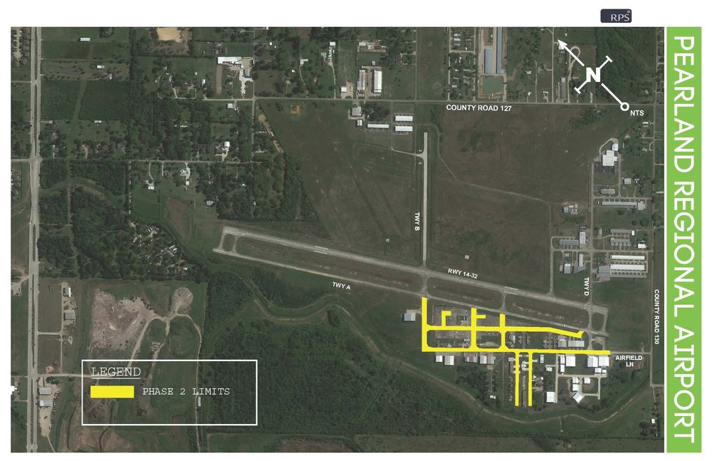 Phase 2: Remove pavement markings west of Runway 14/32     Saturday, May 26 - Monday, June 4