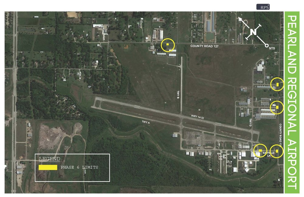Throughout the entire project, crews will be working on electrical and will be replacing gates and signs  outside of the Runway Safety Area (RSA) .