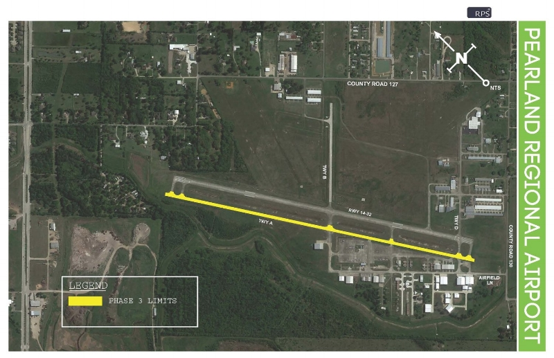 Phase 3: Remove pavement markings on taxiway alpha     Tuesday, june 5 - saturday, june 9