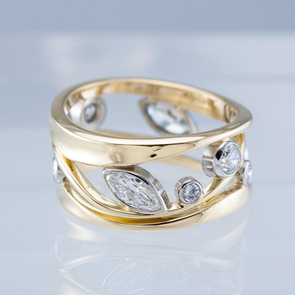 Eternity Constellation with Bezeled Diamonds