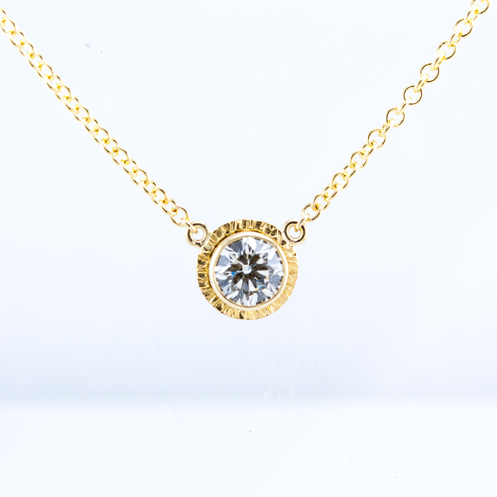 Lollipop Necklace with Diamond