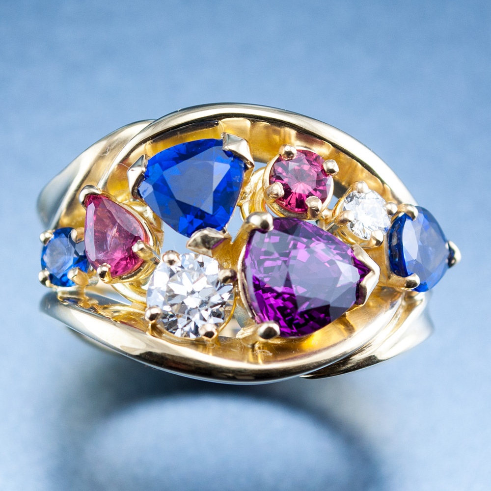 """""""I Love Colors"""" Ring"""