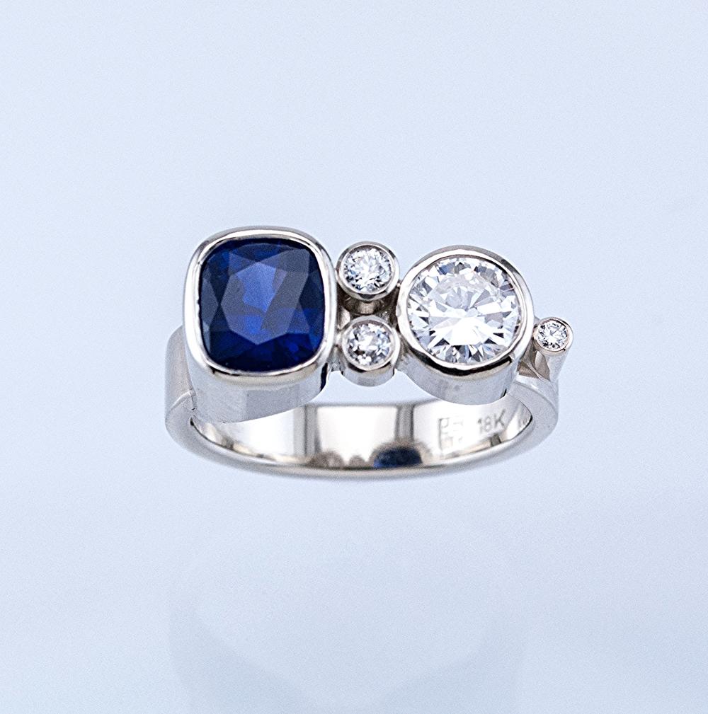 Mod Engagement Ring