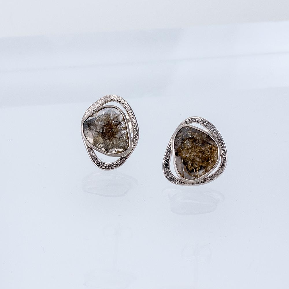 Diamond Wafer Studs