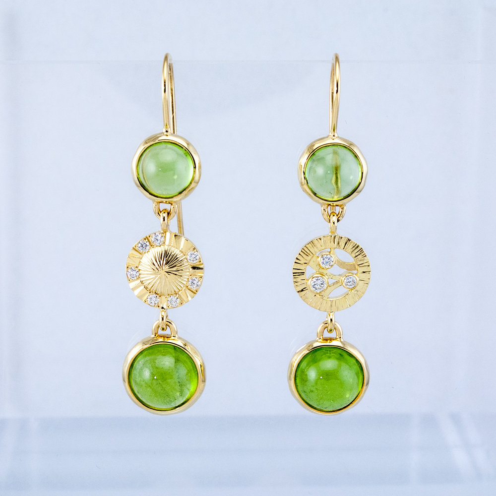 Refreshed Peridot Earrings