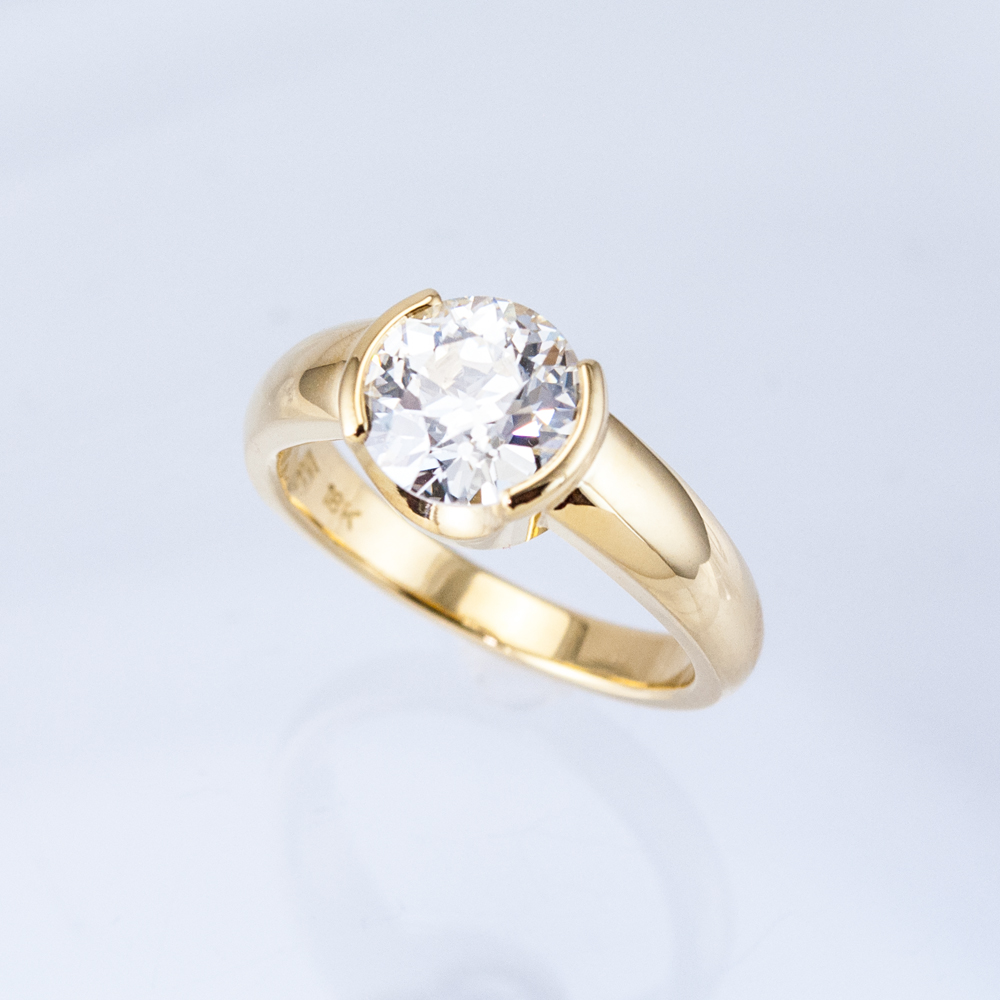 Lincoln Diamond Solitaire