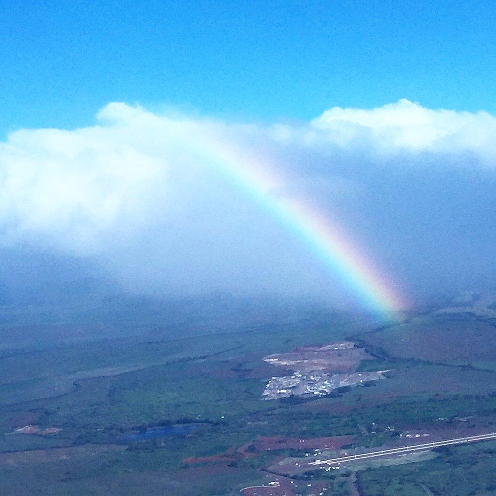 Rainbows in Maui