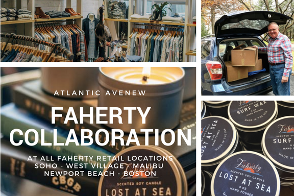 atlantic avenew x Faherty Brand Collaboration