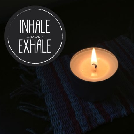 Inhale and Exhale Soy Candle by atlantic avenew