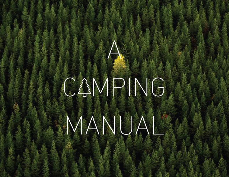 A Camping Manual