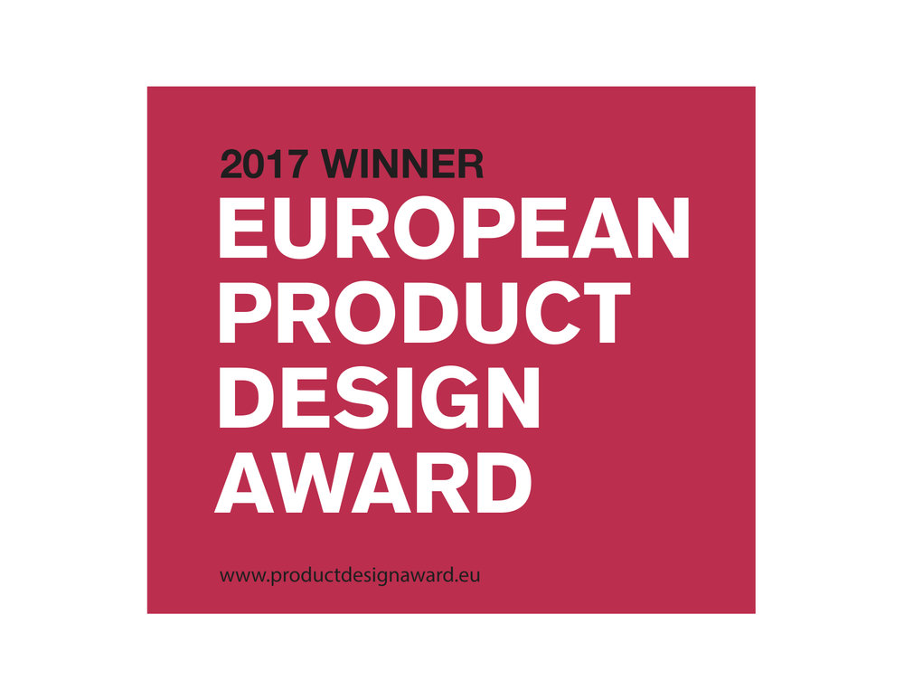 European Product Design Award Winner 2017