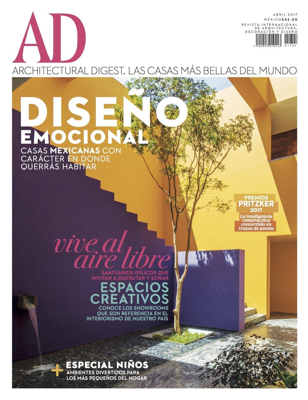 Architectural Digest, April 2014