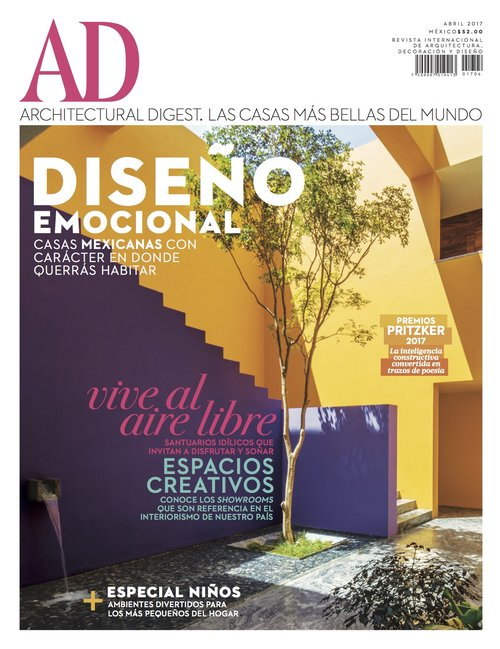 Architectural Digest, April 2017