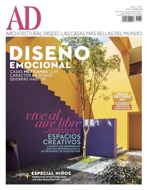 Architectural Digest April 2017