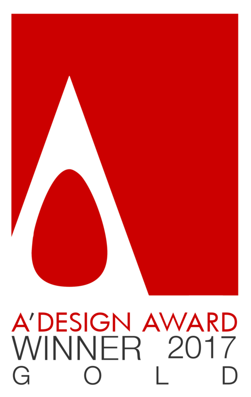 A' Design Award Gold Winner 2017