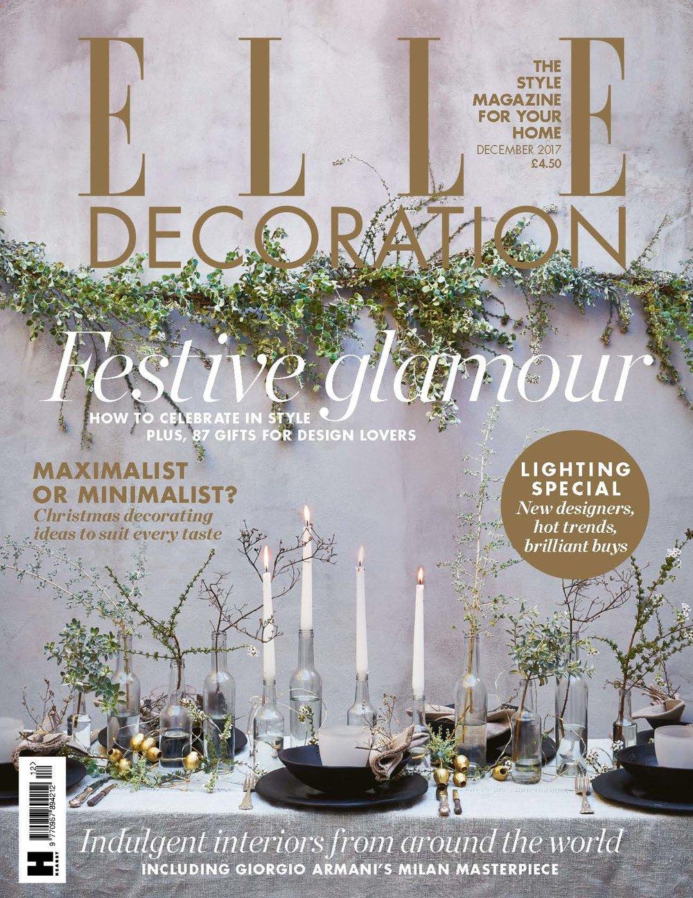Elle Decor UK, December 2017