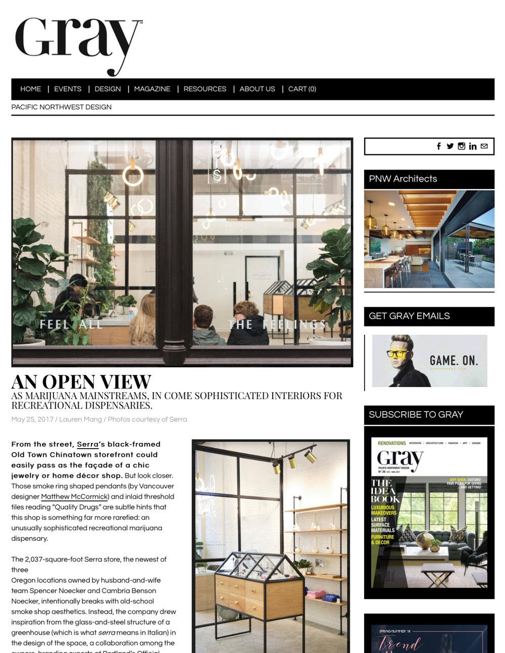 Gray Magazine May 25, 2017