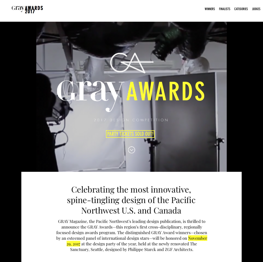 Gray Awards December 2017