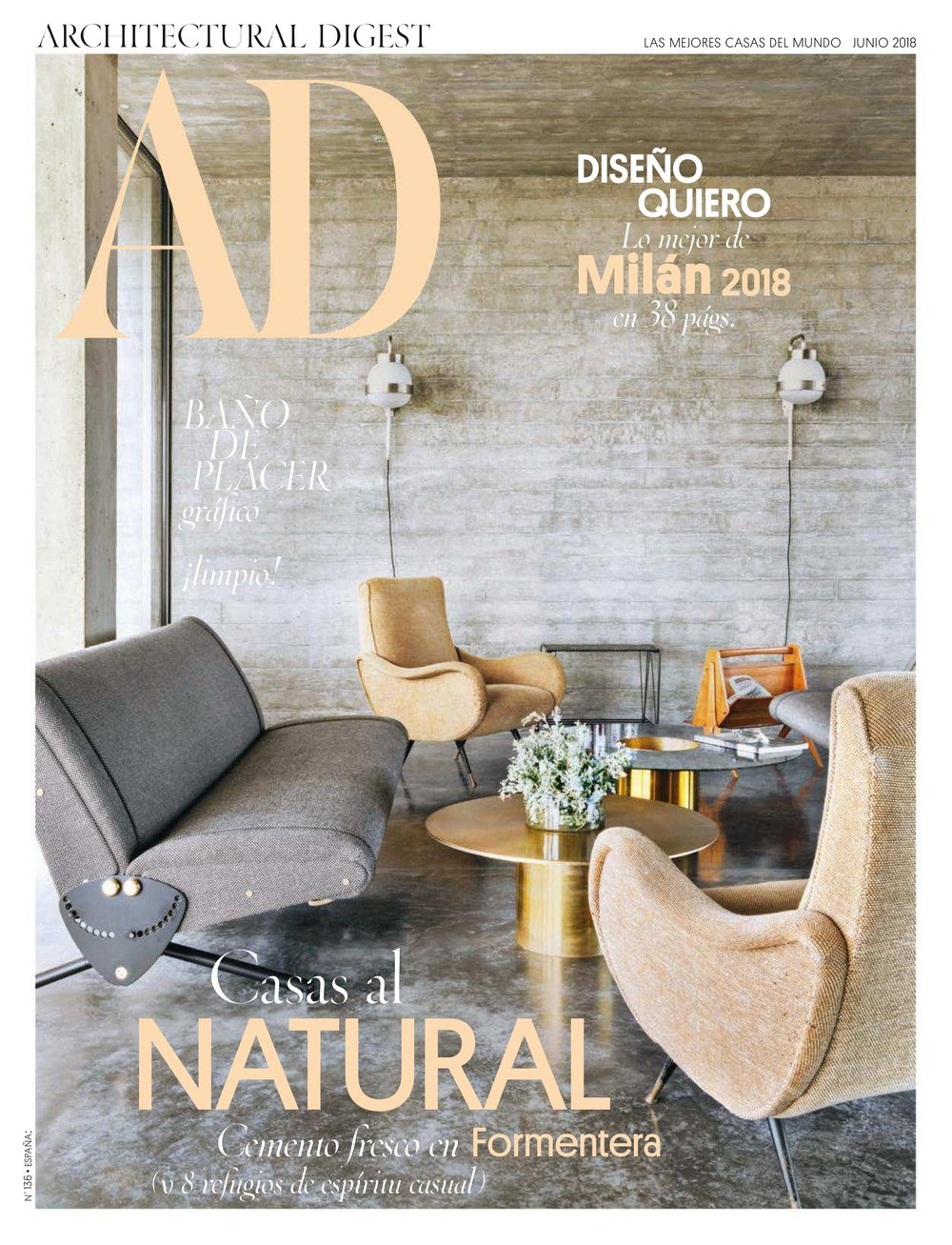 Architectural Digest Spain June 2018