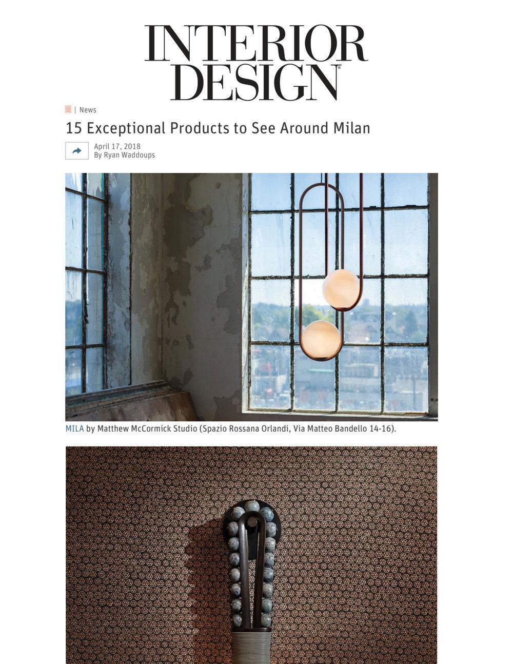 Interior Design April 2018