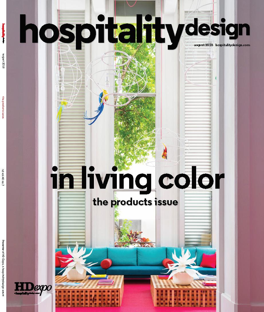 Hospitality Design August 2018
