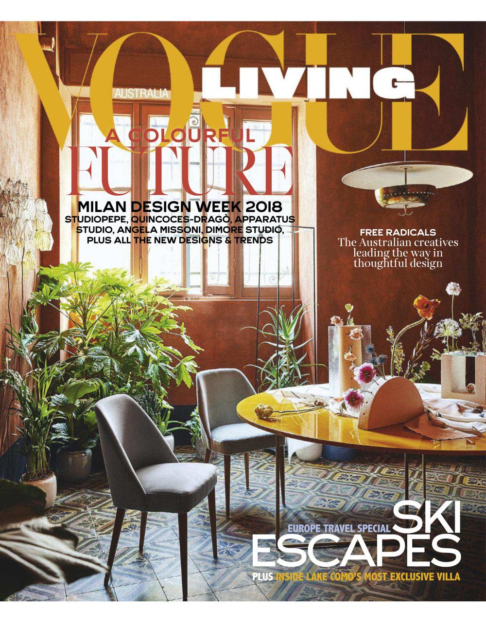 Vogue Living June 2018