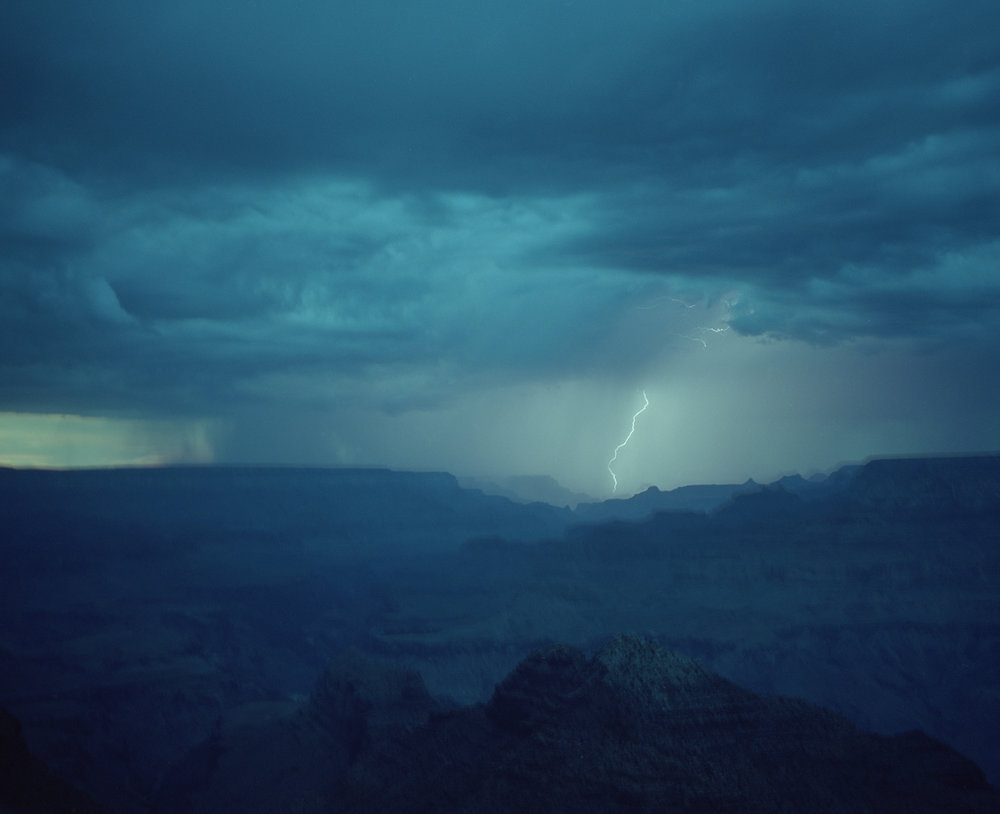 Lightning Storm Grand Canyon Arizona