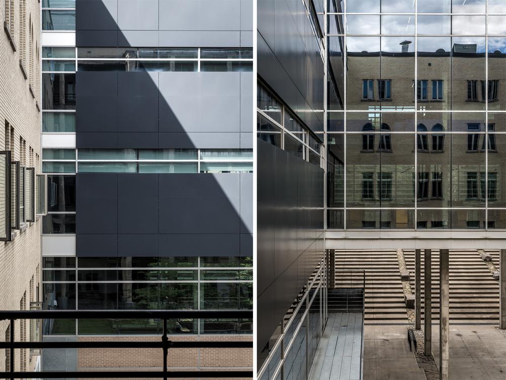 Faculté de l'aménagement, UdeM / Menkès, Shooner, Dagenais, Letourneux architectes, + Saucier et Perrotte, architectes