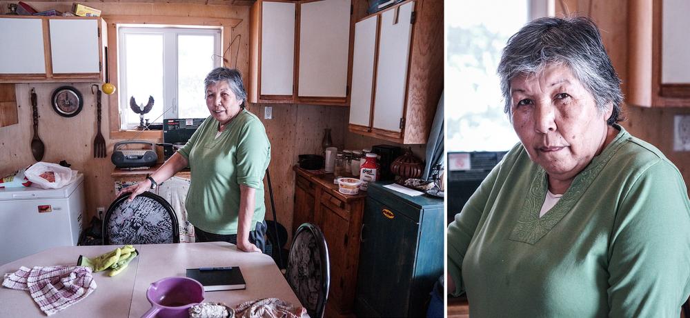 Louisa - Communauté algonquine de Kitcisakik
