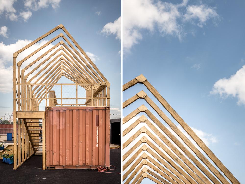 Le Perspectographe / Atelier Brut + Charles Laurence Proulx et Rémi St-Pierre