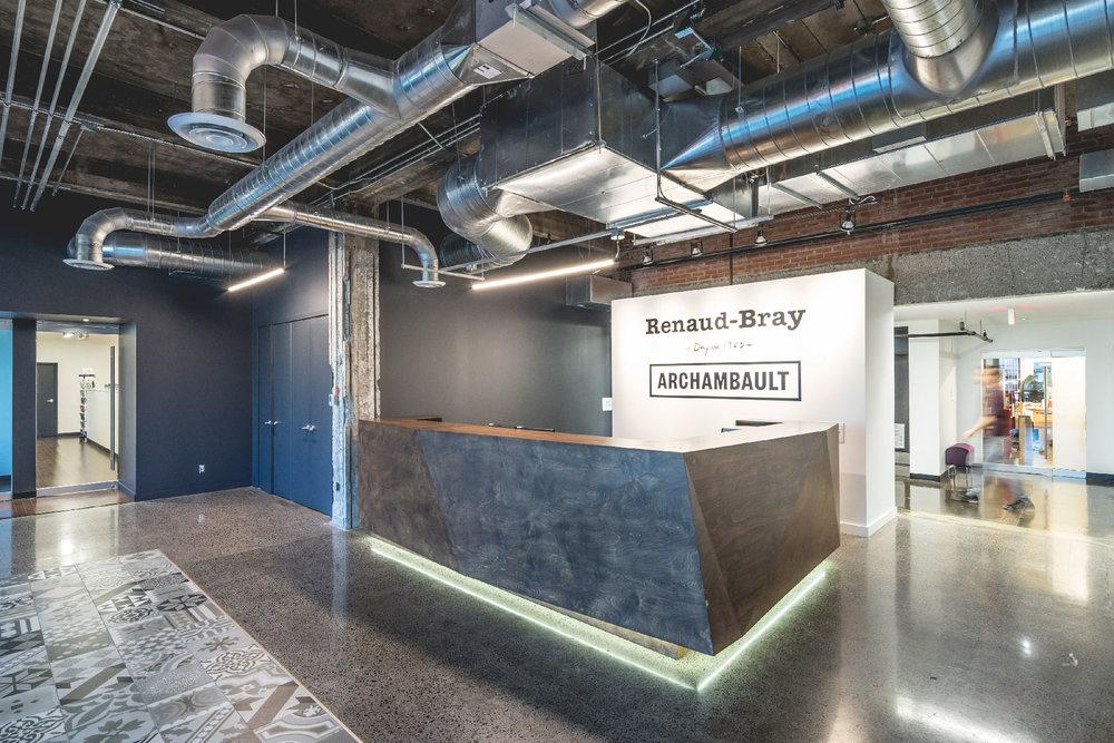 Bureaux Renaud-Bray -  Architecture Workshop  © Raphaël Thibodeau