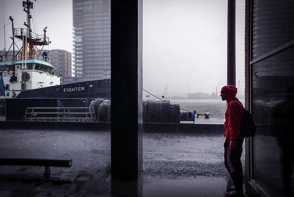 Petites personnes / Fighter © Raphaël Thibodeau