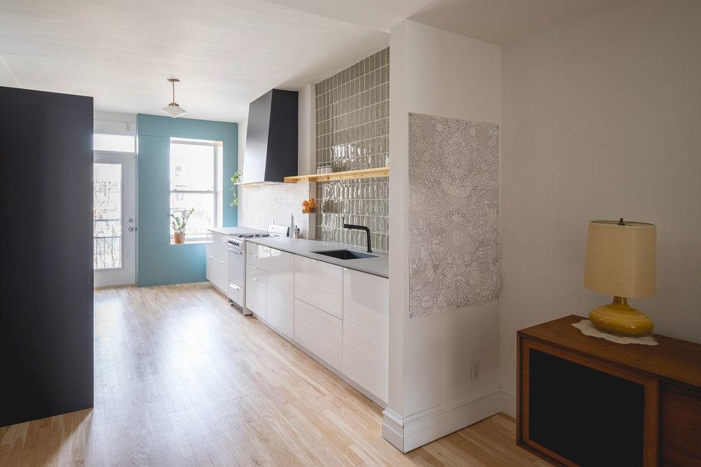 La cuisine de Sophie et Mani - atelier catherine catherine  © Raphaël Thibodeau