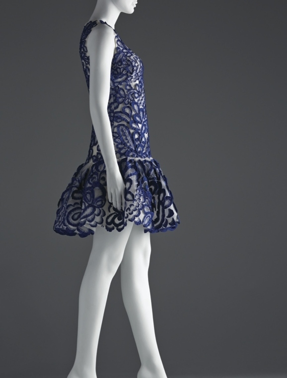 Oscar de la Renta embroidered dinner dress; On loan from Bee Shaffer, New York City