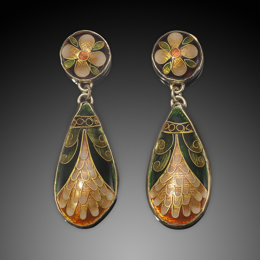 Earrings by Jan Mayer