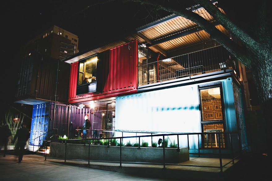 The Container Bar in Austin, Texas