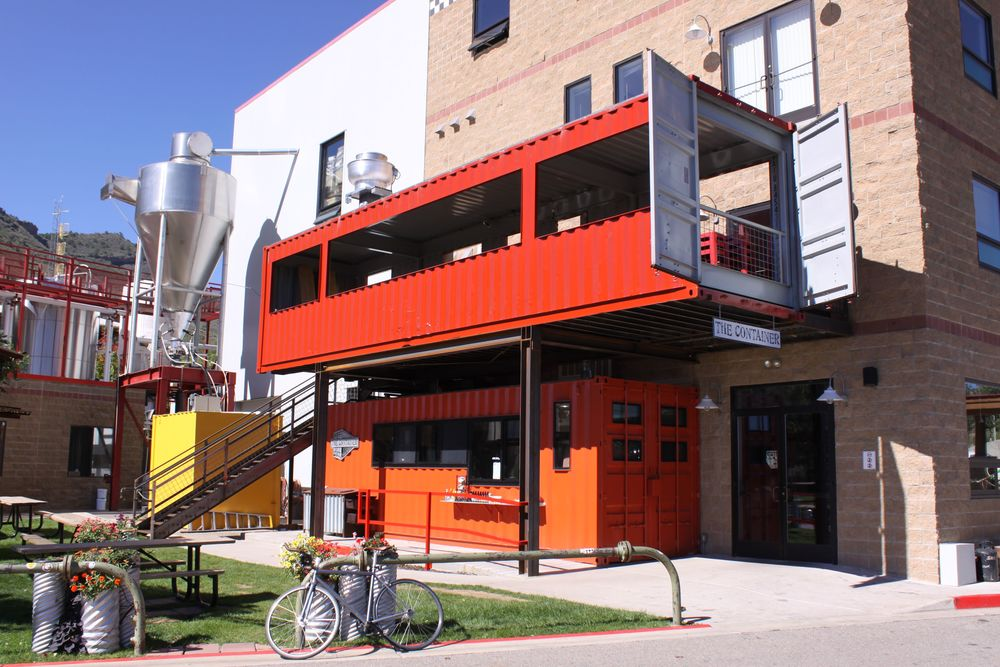 The Container Restaurant in Durango, Colo.