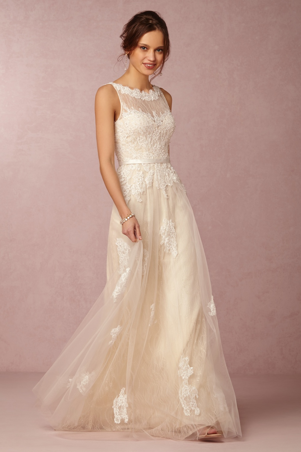 The Georgia Gown was made with Southern brides in mind. Georgia Gown; $1,000