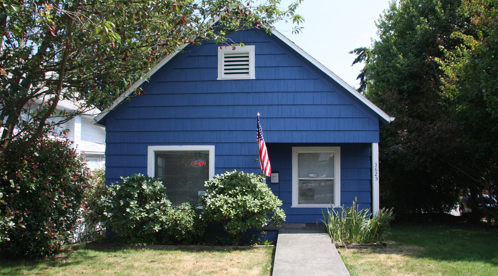 The Little Blue House - Law Offices of Rick H. Merrill Everett, Washington State