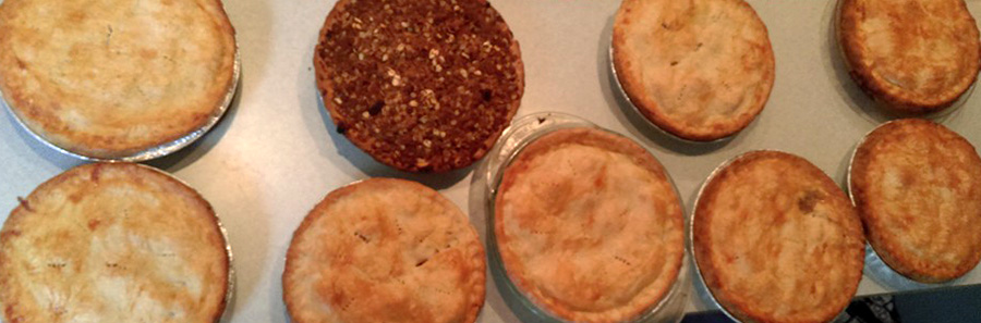Come see what kind of Pies they have at the Evergreen State Fair Pie Eating Contest!