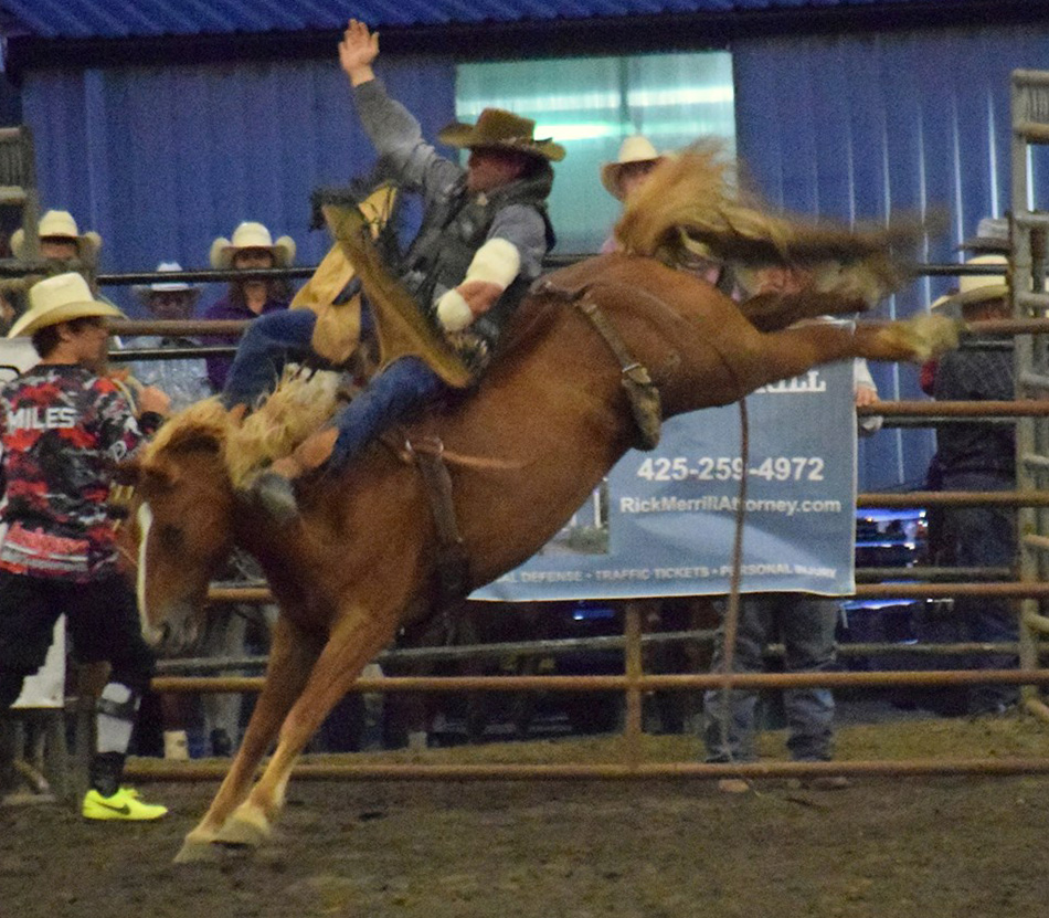 Rodeo Audience Helps Charity