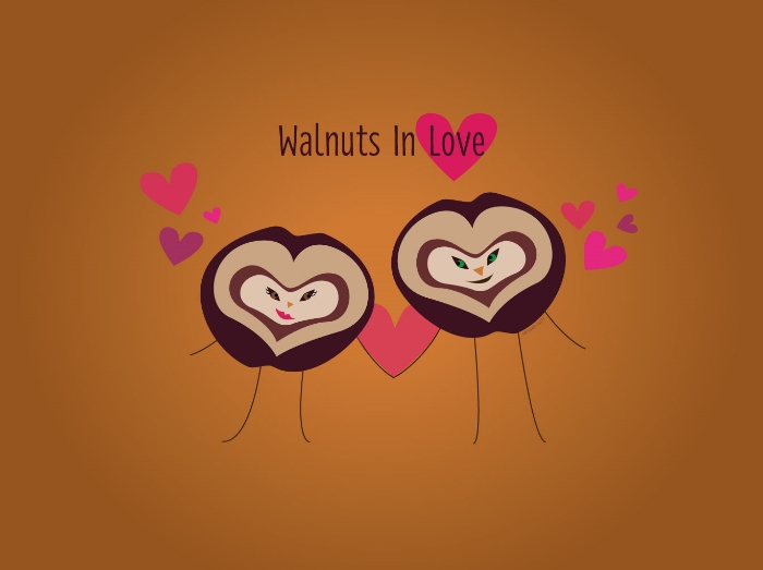 WalnutsInLove1280X1024