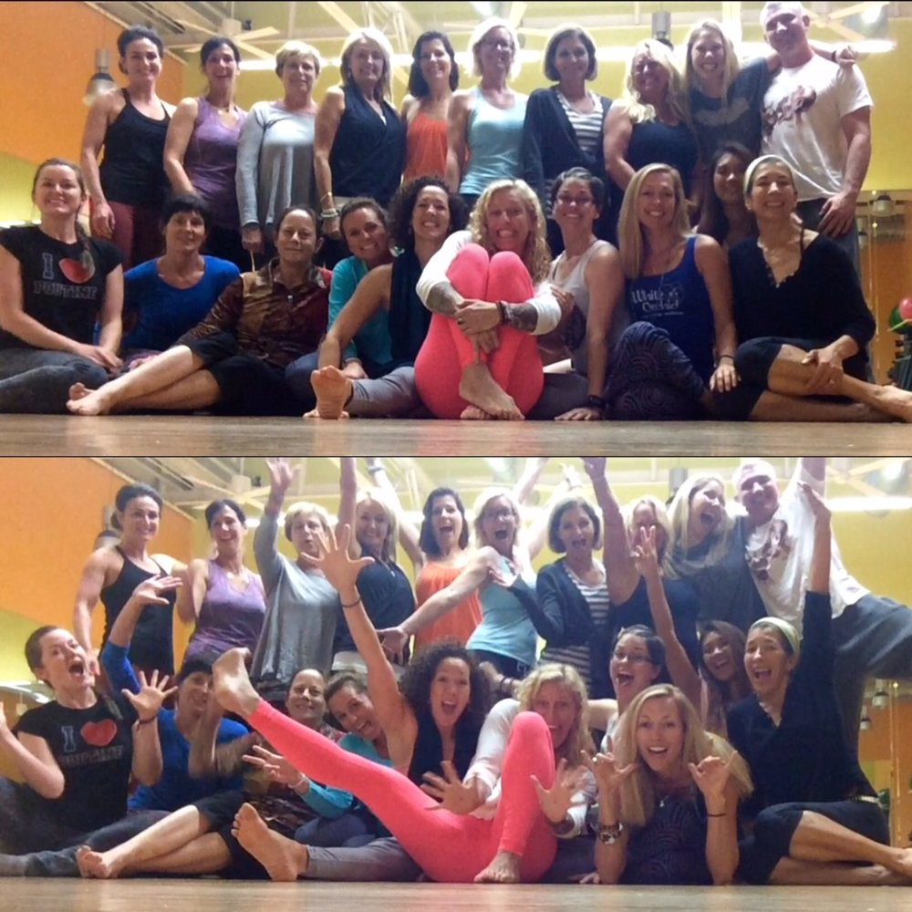2014 200-Hour Yoga Training Graduates