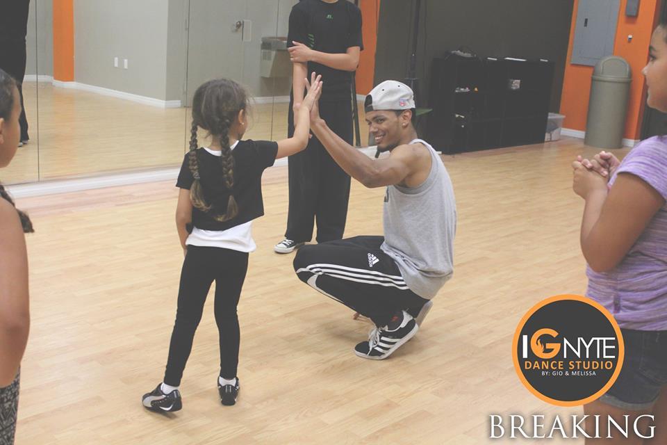 Break Dance with Mr. Swiper