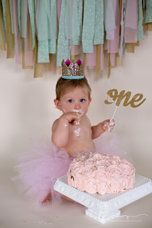 Lehigh Valley Cake Smash Photographer