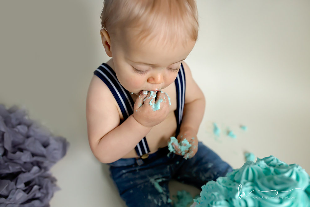 Allentown Cake Smash Photography