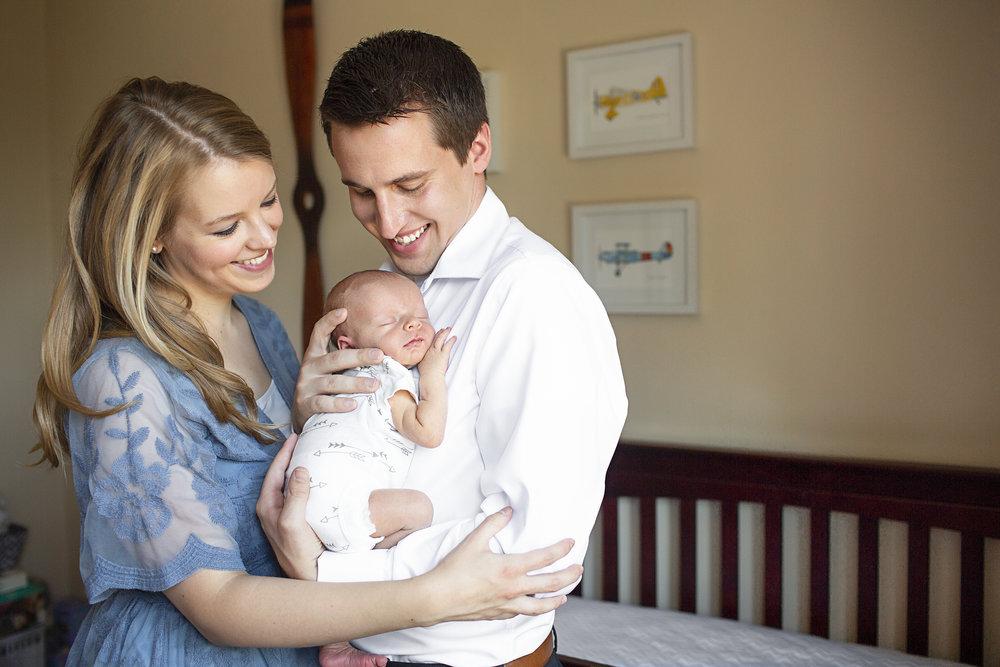 Lehigh Valley In Home Newborn Photographer -